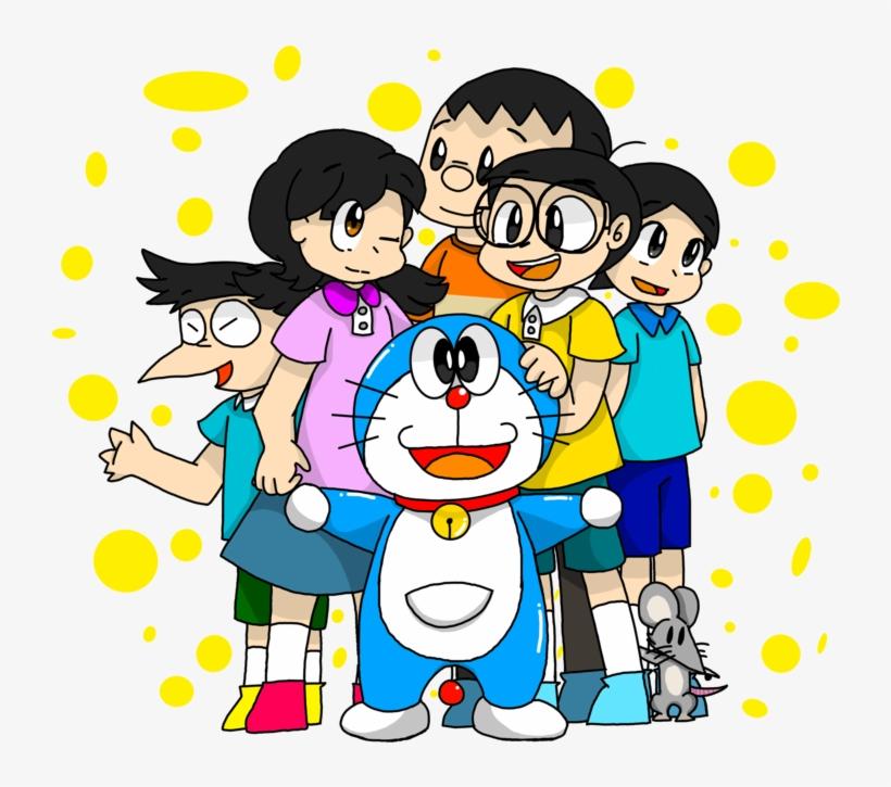 doraemon and friends png transparent png x