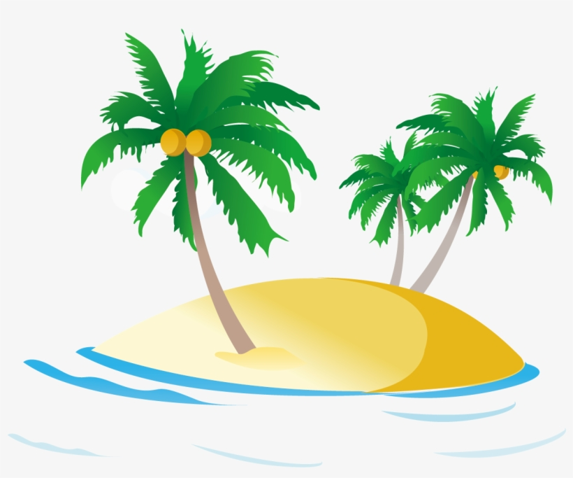 Sea Ocean Royalty Free Clip Art Coconut Tree Clipart Png Transparent Png 1181x1181 Free Download On Nicepng