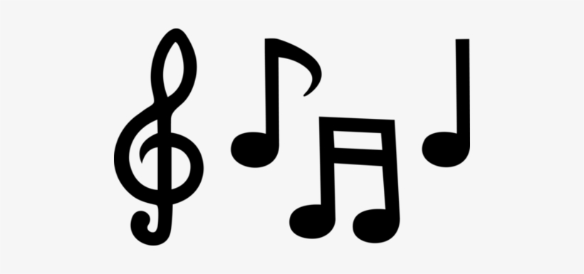 Music Note Clip Art Black And White Music Notes Clipart Transparent Png 500x305 Free Download On Nicepng