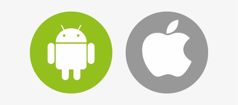 Ios Android Icon Png Clip Art Free Ios And Android Icons Transparent Png 614x284 Free Download On Nicepng