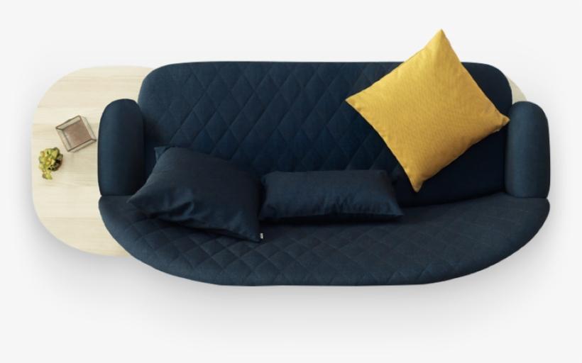 2648 Furniture Hero Asset Top Plan Of Sofa Transparent Png