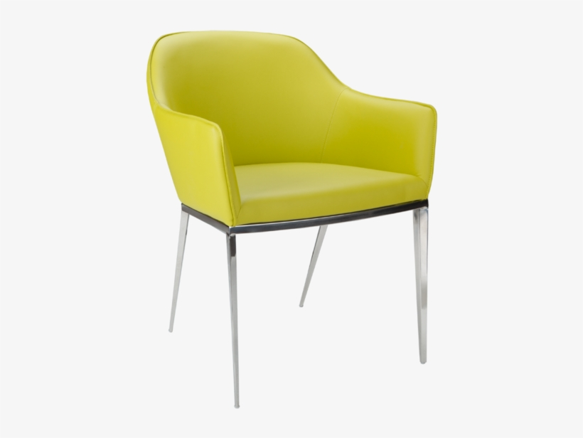 Adalee Dining Chair Lime Sunpan Modern Ikon Stanis Arm Chair Lime Green Transparent Png 760x608 Free Download On Nicepng