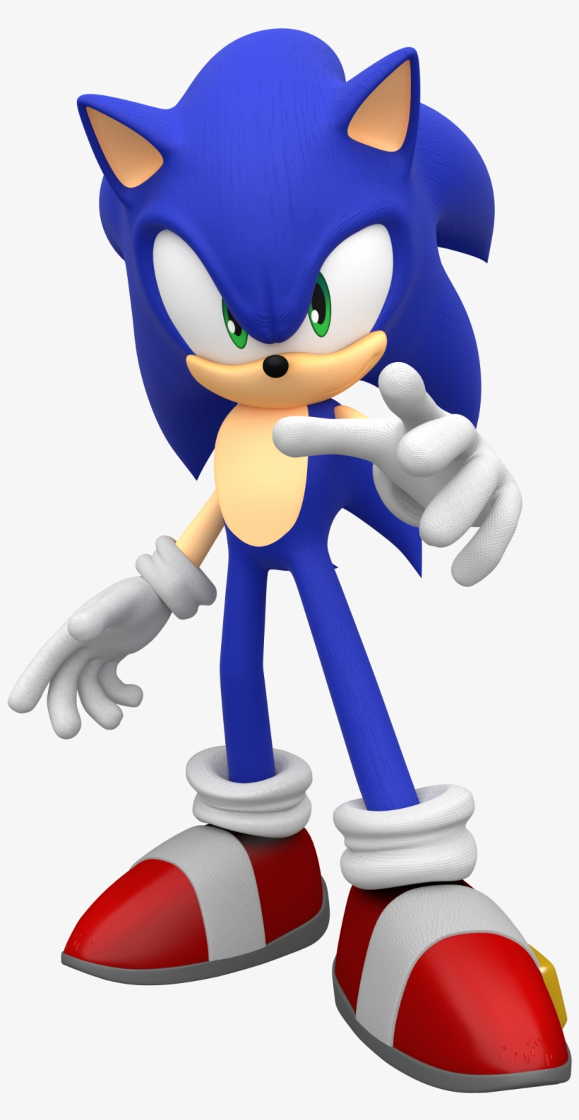 Sonic The Hedgehog 3d Model Sonic The Hedgehog 3d Png Transparent Png 1077x2032 Free Download On Nicepng
