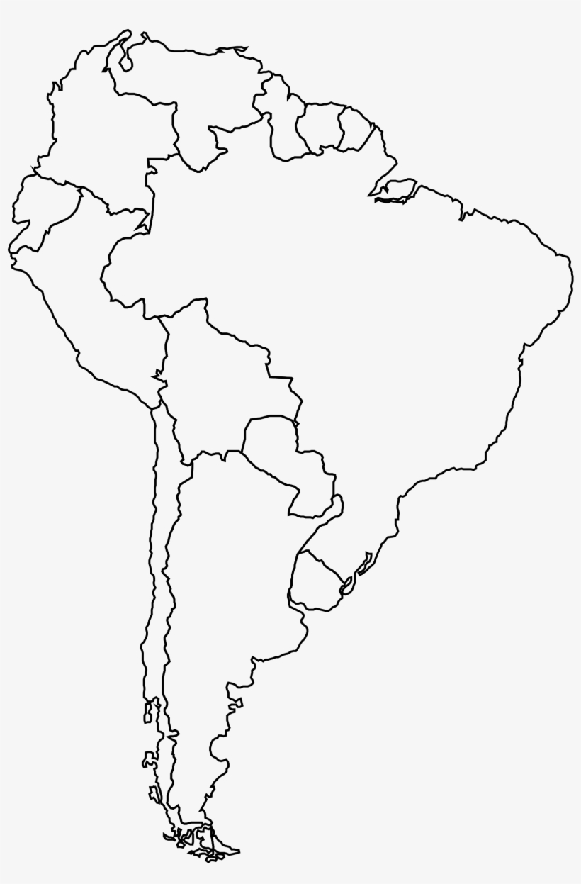 blank maps of south america 19 South America Png Free Huge Freebie Download For Blank Map Of blank maps of south america