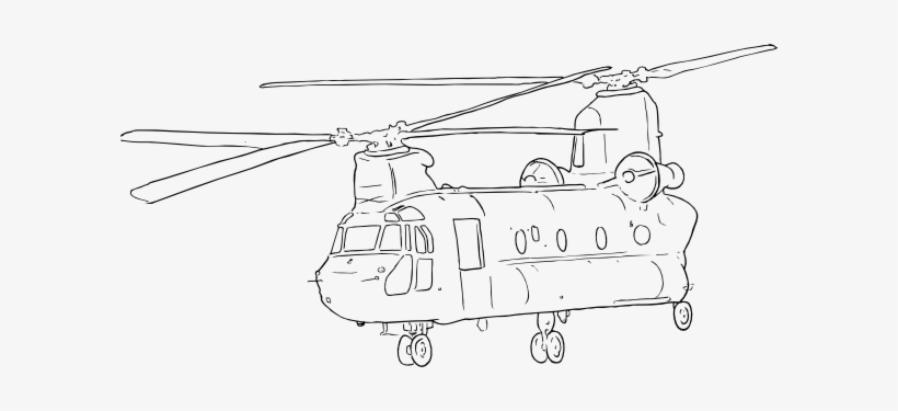 Clipart Transparent Download Collection Of Free Military Chinook Helicopter Coloring Pages Transparent Png 600x295 Free Download On Nicepng