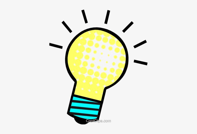 Bright Idea Light Bulb Lampada De Ideia Png Transparent Png