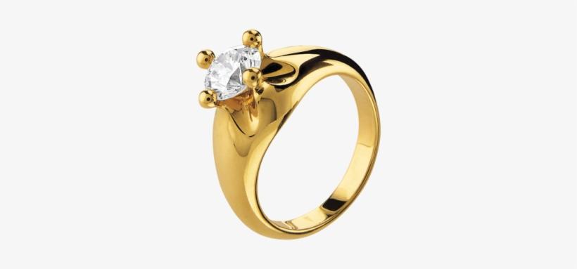 corona 18 kt yellow gold solitaire ring set with a cincin emas bermata satu transparent png 505x394 free download on nicepng corona 18 kt yellow gold solitaire ring