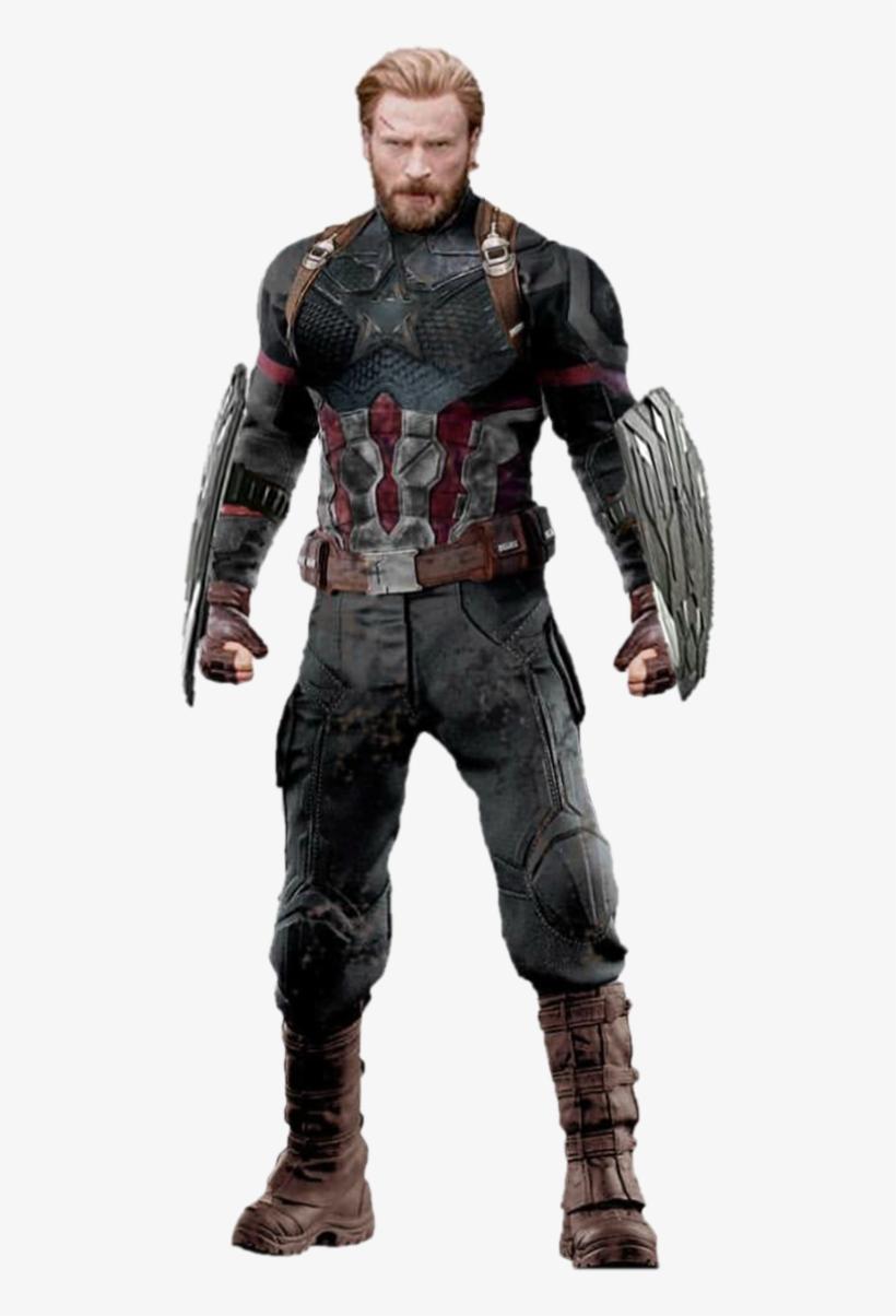 Avengers Infinity War Png By Https - Mcu Bucky As Captain America