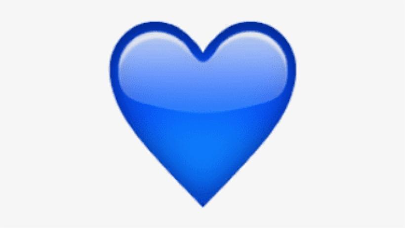 Free Png Ios Emoji Blue Heart Png Images Transparent Coeur Bleu Png Transparent Png 480x502 Free Download On Nicepng
