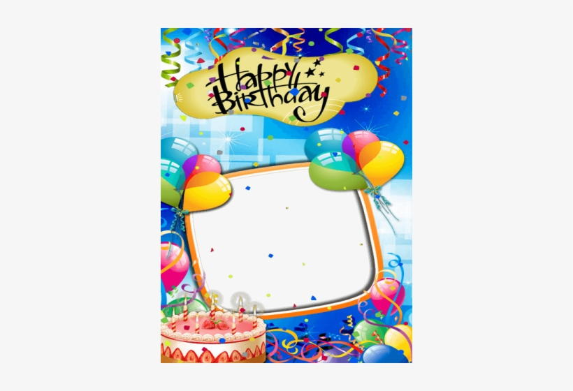 Happy Birthday Frame Sticker And Card Maker Latest