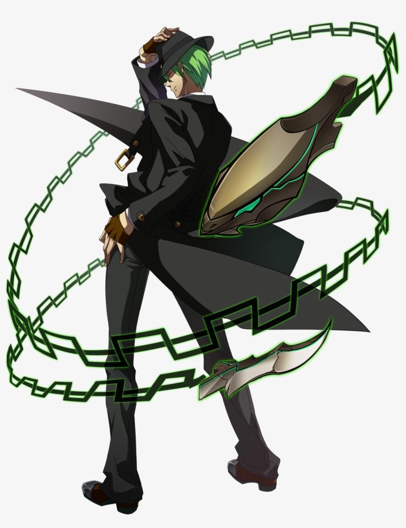 Hazama Continuum Shift Pre Battle Position - Blazblue Cross Tag