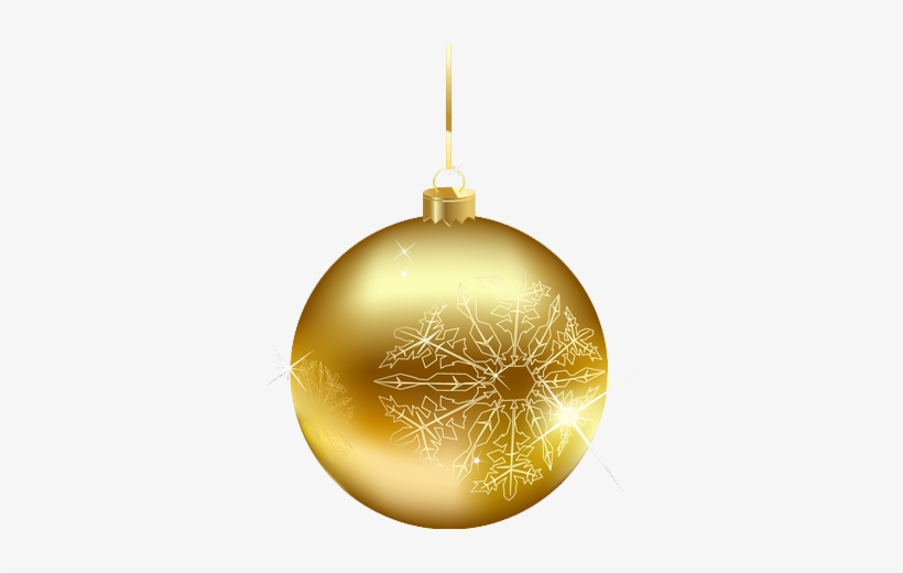 Boule De Noel Or Boule De Noel Or Png Transparent PNG   340x440   Free Download on