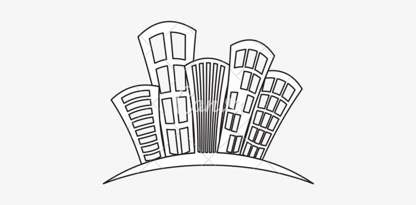 City Buildings Drawing At Getdrawings