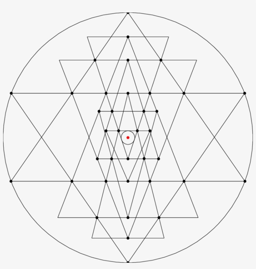 Shri Yantra With A High Amount Of Heterogenity - Sri Yantra