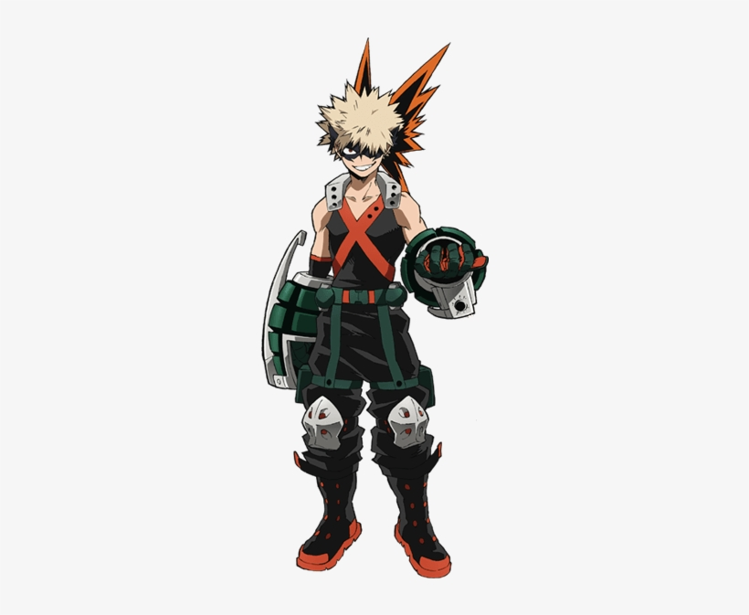 bakugou character sheet katsuki bakugo hero costume full body - bakugou boku no hero