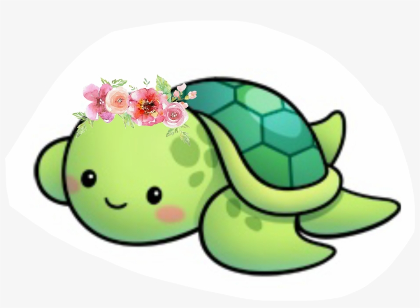 Clipart Turtle Cute Tortuga Kawaii Transparent Png 1413x967
