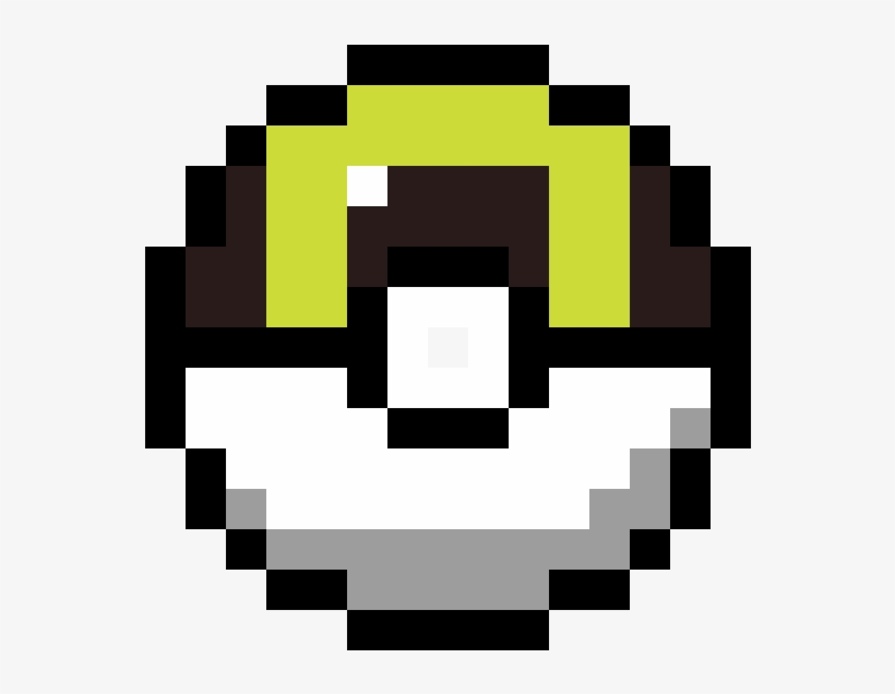 Ultra Ball Pixel Art Smiley Transparent Png 1184x1184 Free Download On Nicepng