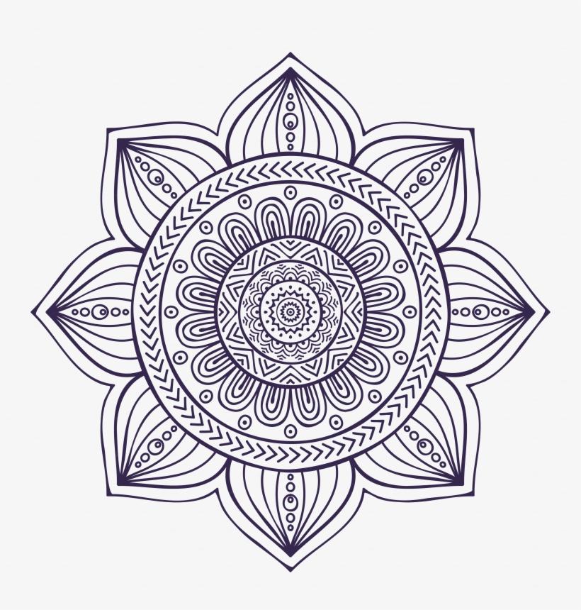 Mandala Drawing Art - Livro De Colorir Mandalas - Vol 1