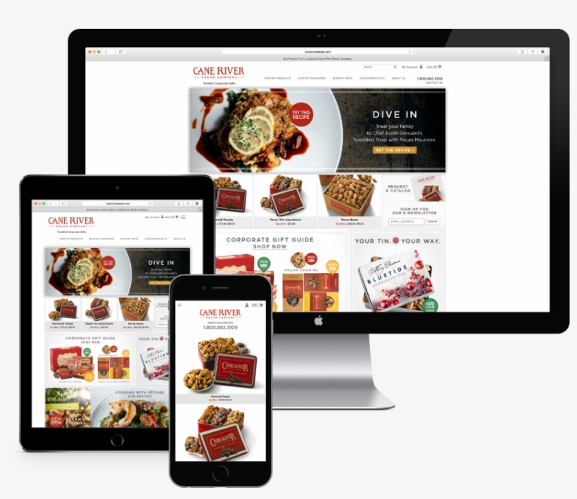 Example Of Website Using Responsive Design Responsive Web Design Transparent Png 1224x792 Free Download On Nicepng