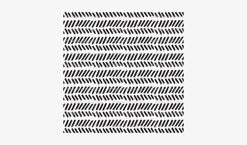 Herringbone Stitch Craft Stencil By Cutting Edge Stencils Size SMALL