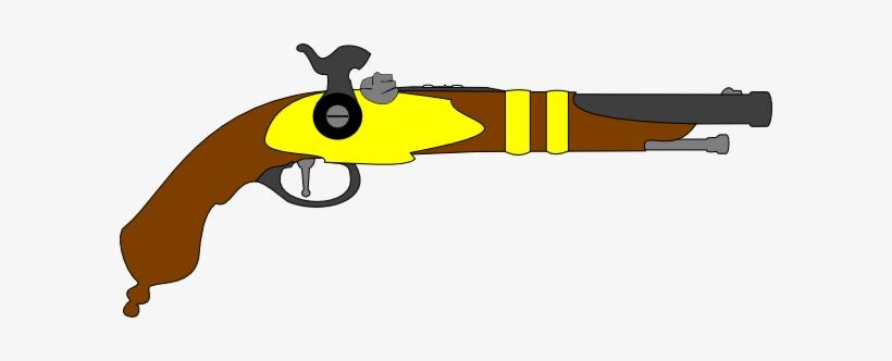 Pistol Clipart Flintlock - Musket Pistol Clip Art