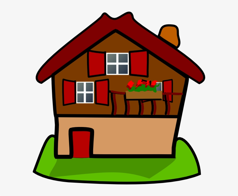 Cartoon House Clip Cartoon House Png Transparent Png 594x596 Free Download On Nicepng