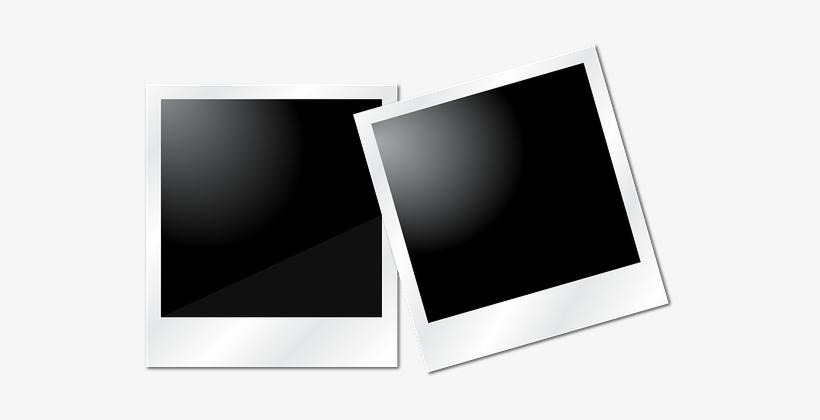 Polaroid transparent. Photo pic album photography