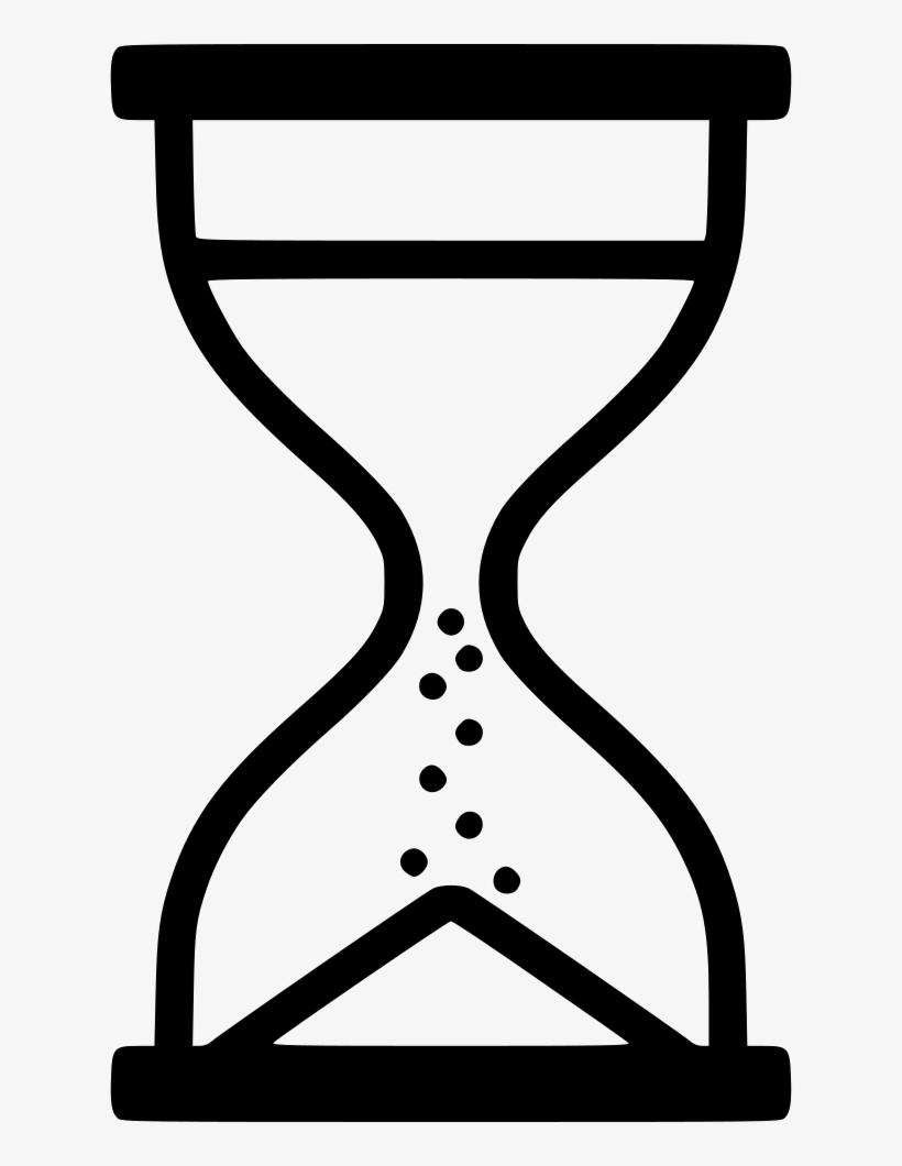 Sand Clock Svg Png Icon Free Download - Black Sand Timer