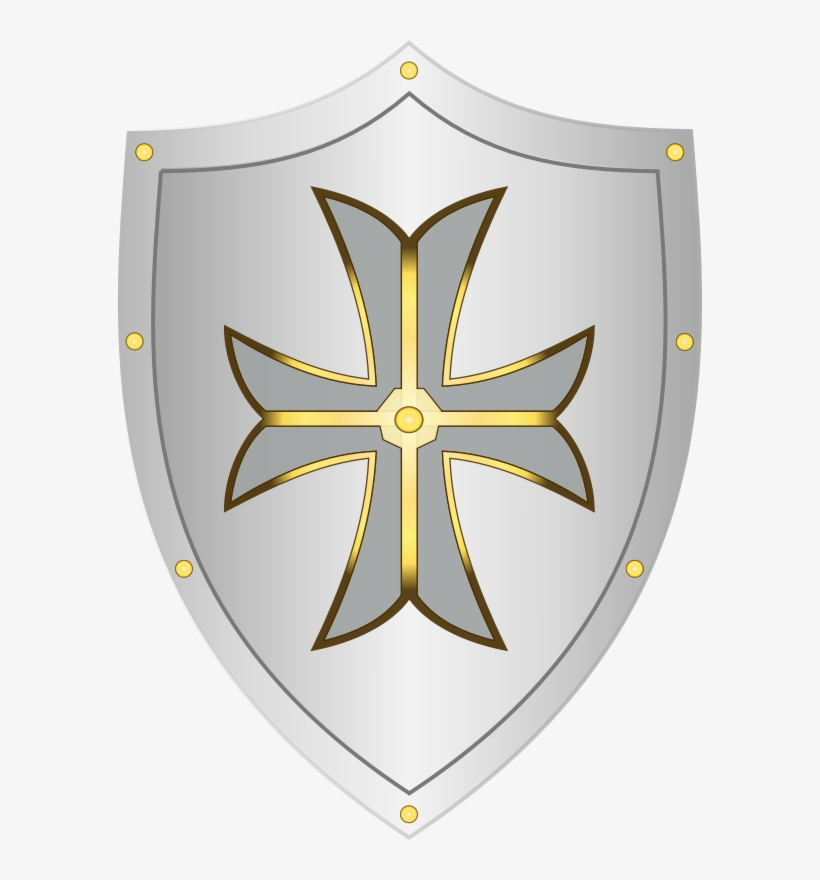 Shield Free To Use Clip Art Dibujo De Escudo Medieval