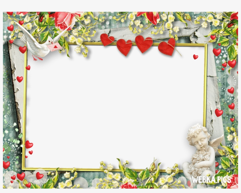 Webka Photo Frames Online App For Free Romantic Photo Frame Transparent Png 2048x1536 Free Download On Nicepng