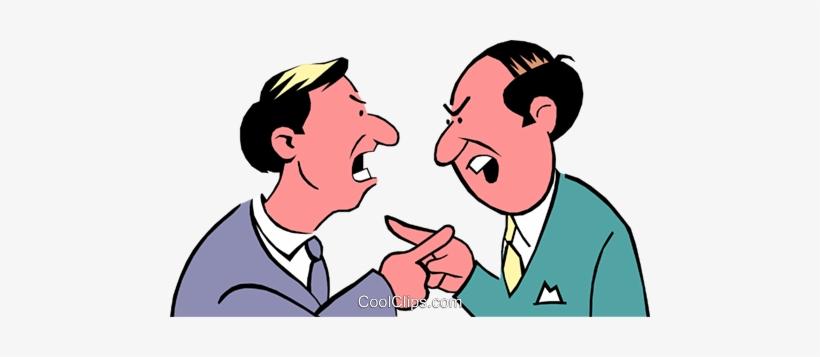 842eec866fe22e Cartoon Argument Royalty Free Vector Clip Art Illustration - Disputes Gif