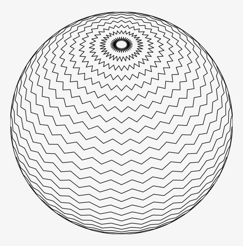 Sphere Drawing Computer Icons Black And White