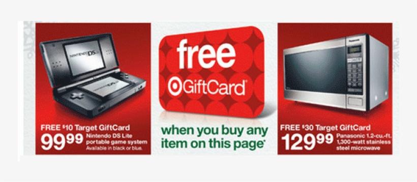 Target Gift Card Transparent PNG - 750x317 - Free Download