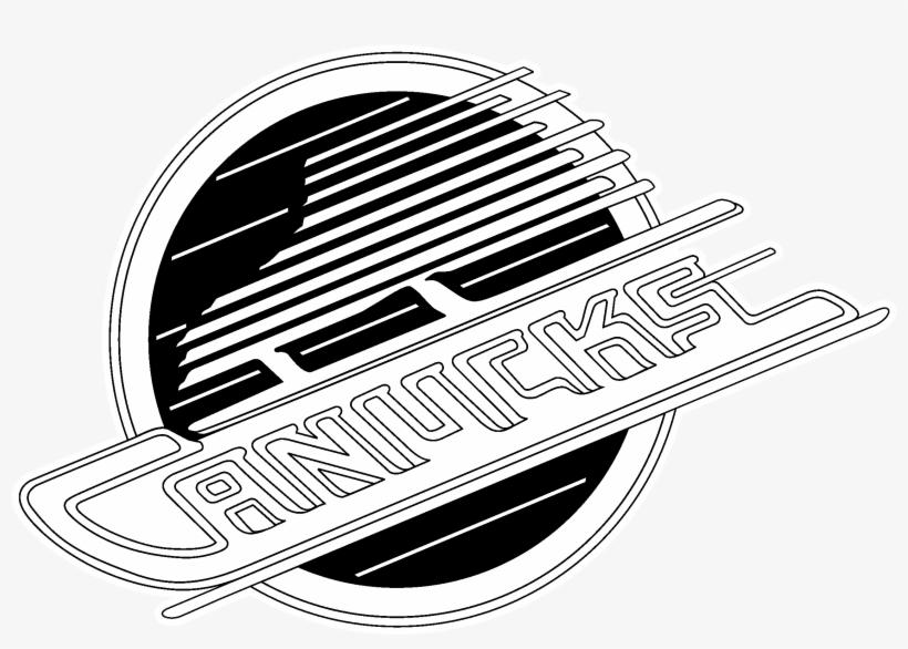 Vancouver Canucks Logo Black And White Canucks Skate Logo Transparent Png 2400x2400 Free Download On Nicepng