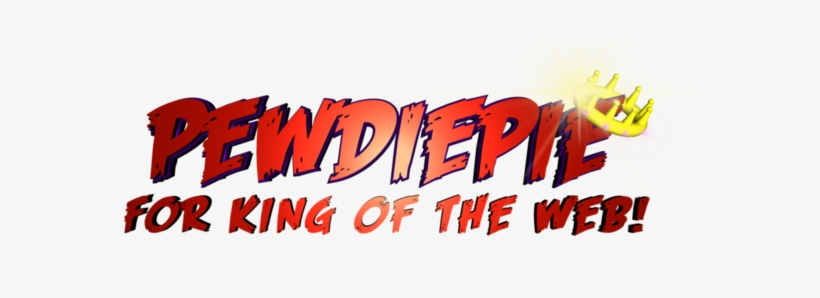 Pewdiepie Ran For The King Of The Web, It Is An Online