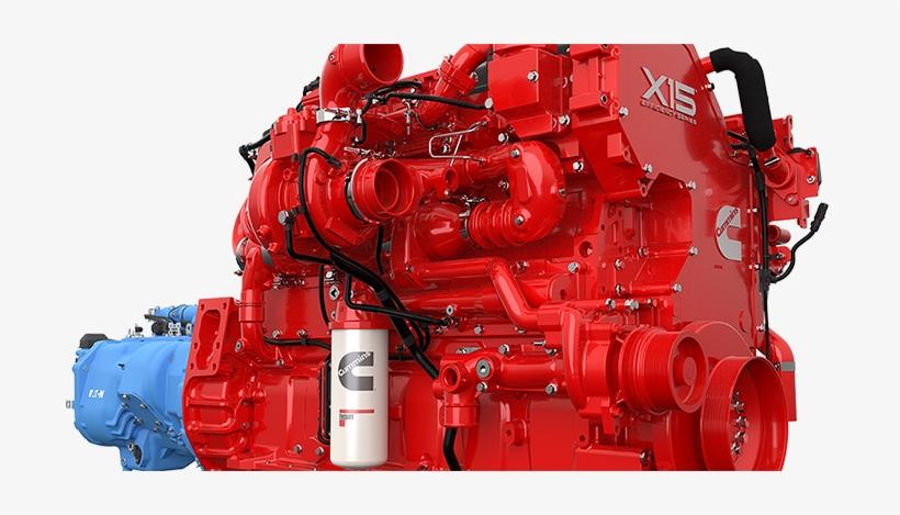 Cummins X15 Engine Specs Transparent PNG - 700x389 - Free
