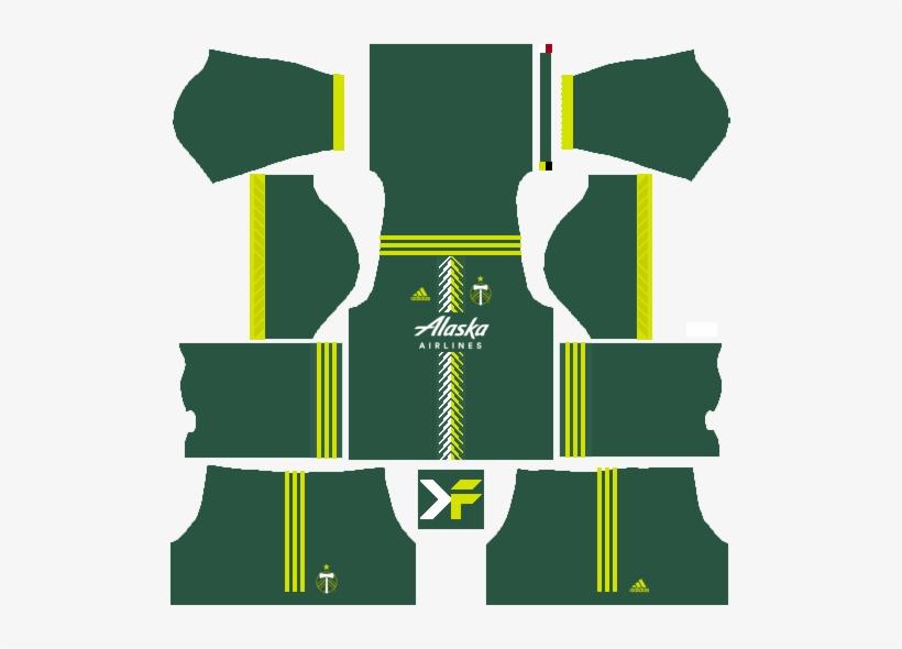 Houston Dynamo Home Kit - Kit Ac Milan Dls Transparent PNG