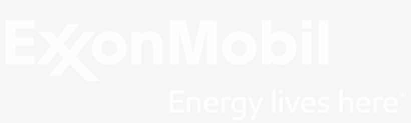 Exxonmobil Chemical - Exxon Mobil White Logo Transparent PNG