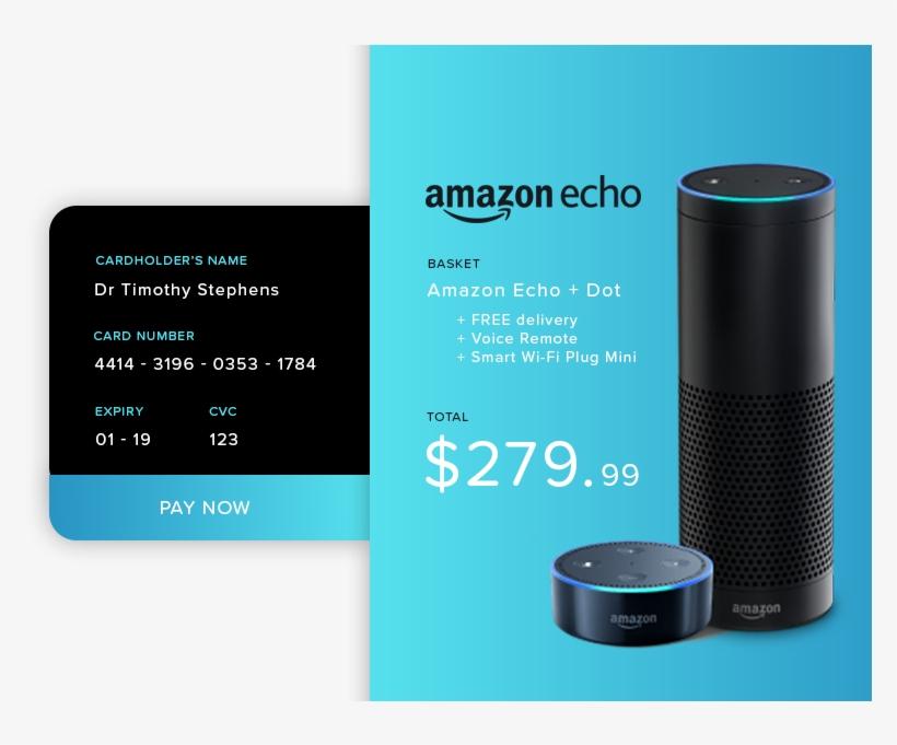 Ui 002 Creditcard - Amazon Mp3 Transparent PNG - 800x600 - Free