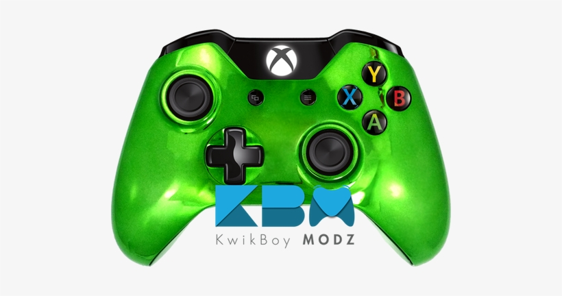 Custom Green Chrome Xbox One Controller - Xbox One S Elite