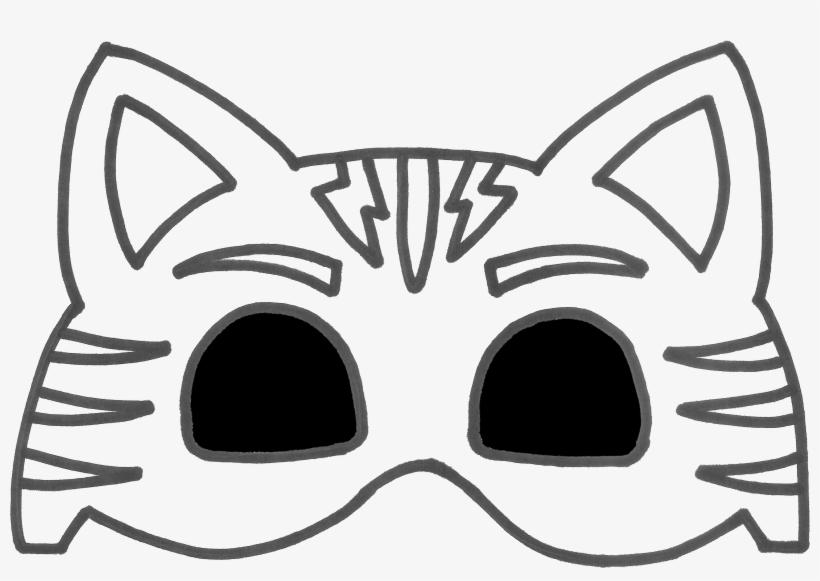 Pj Masks Owlette Mask Template