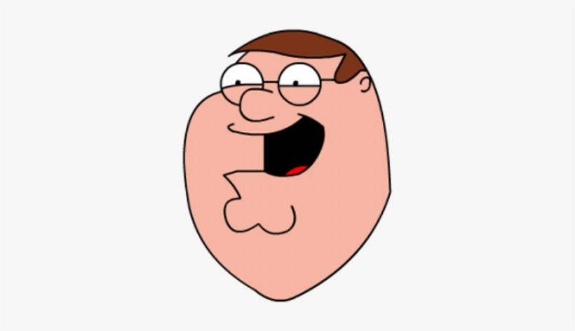 Peter Griffin Family Guy Peter Face Transparent Png 400x400