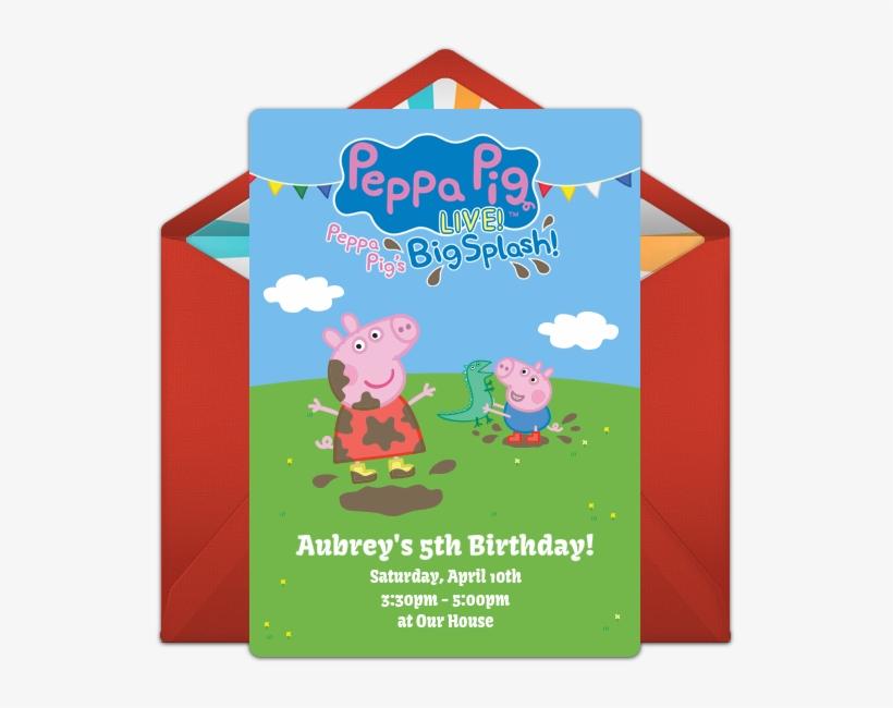 Peppa Pig Live Online Invitation