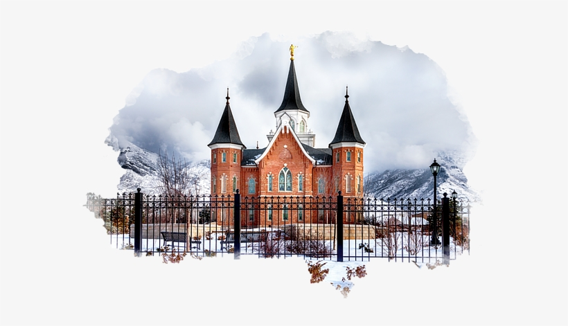 Bleed Area May Not Be Visible - Provo City Center Temple Lds