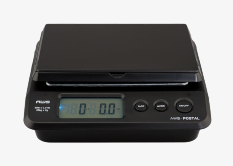 55 Pound Capacity Digital Scale - Kitchen Scale Transparent