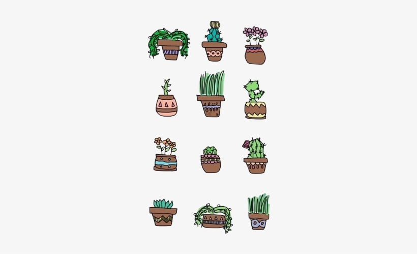 Plant Drawing Tumblr Cacti Friends Plants Are Friends Iphone