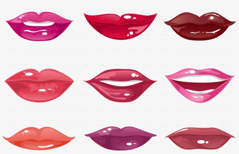 Lips Clipart Female Cartoon Lip Shape Lips Clipart Transparent Png 4594x2735 Free Download On Nicepng