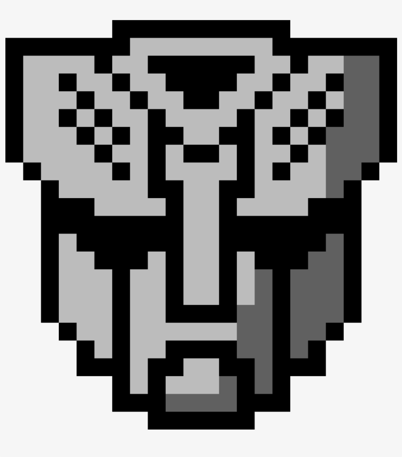 Autobots Pixel Art Logo Transformers Transparent Png 1184x1184 Free Download On Nicepng