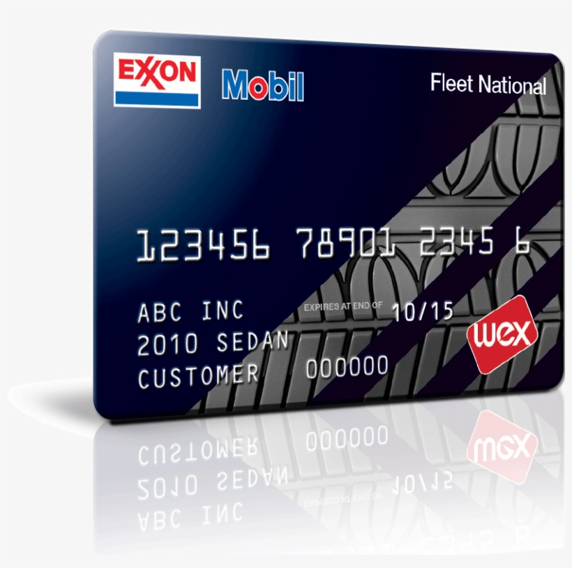 Exxon Mobil Black Card - Exxon Mobil Credit Card Transparent PNG