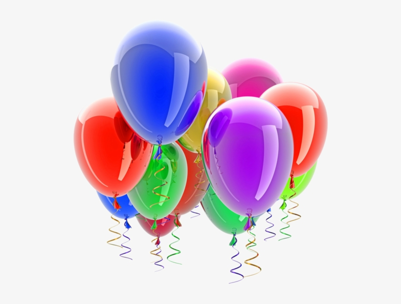Ballons Anniversaire Png Balloons Without A Background Transparent